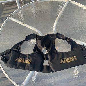 Rib protection pad